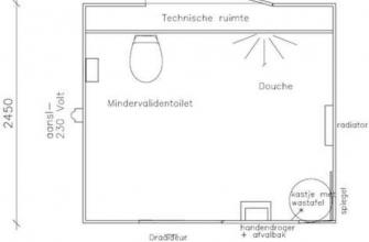Toilet/doucheunit mindervalinde nr. 5200 - Burito Verhuur B.V. ...